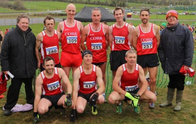 Cork Athletics Masters M35 Cross Country Team 2017