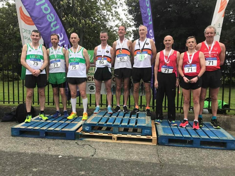 athletics ireland national road relay m50 champions 2019