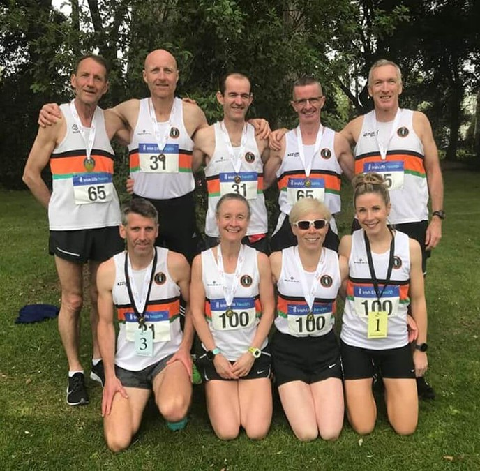 st finbarrs ac national road relay championship squad 2019