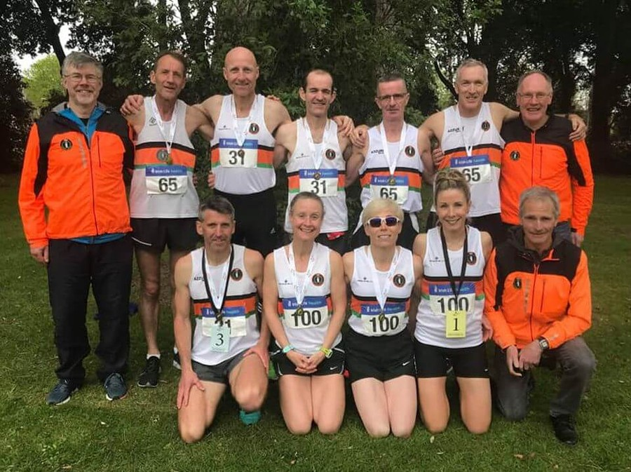 st finbarrs ac national road relay championship squad 2019a