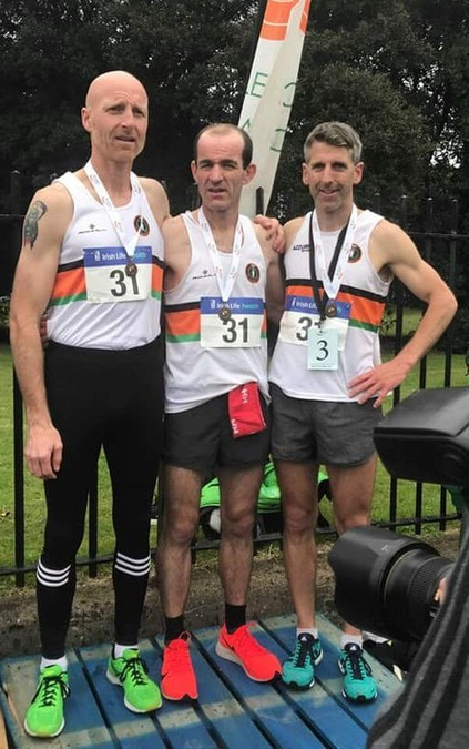 st finbarrs ac national road relay m35 team bronze 2019