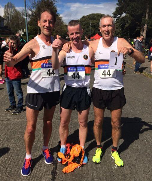 st finbarrs ac national m50 relay champions 2018