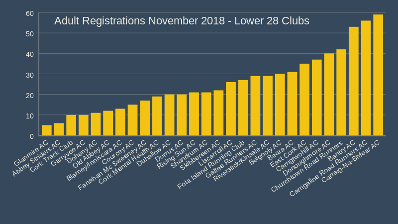 adult registrations november 2018 lower 28 clubs