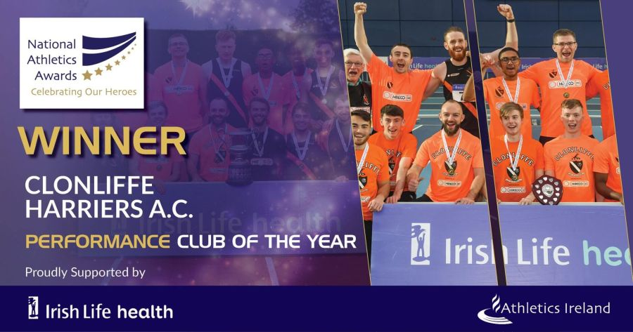 clonliffe harriers ac national athletics awards 2018
