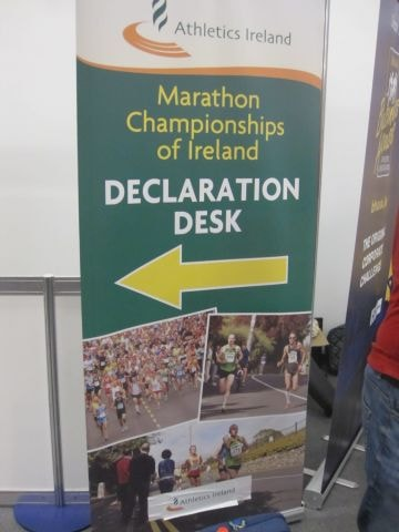 Athletics Ireland Registration Banner