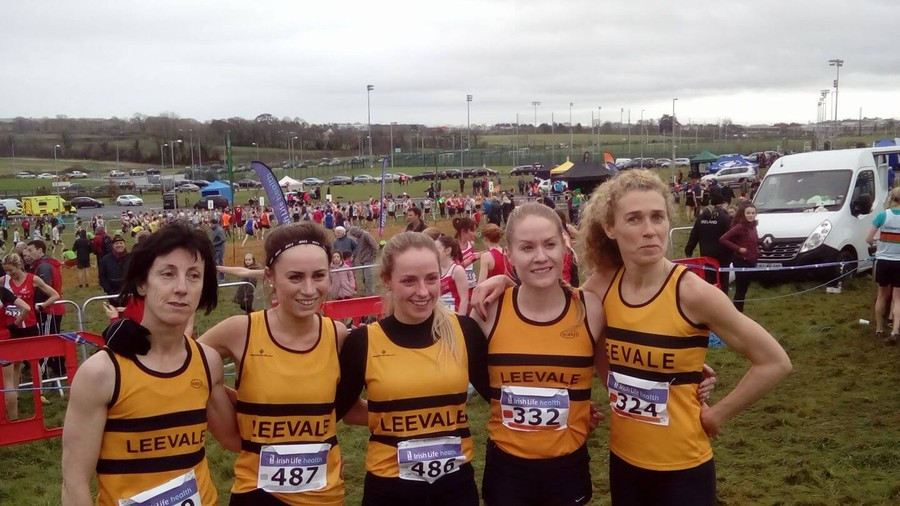 leevale national novice womens cross country team 20171