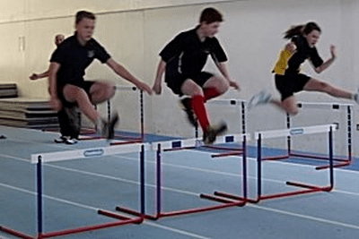 England Athletics HCAN secondary hurdles Nov2014 300 L min