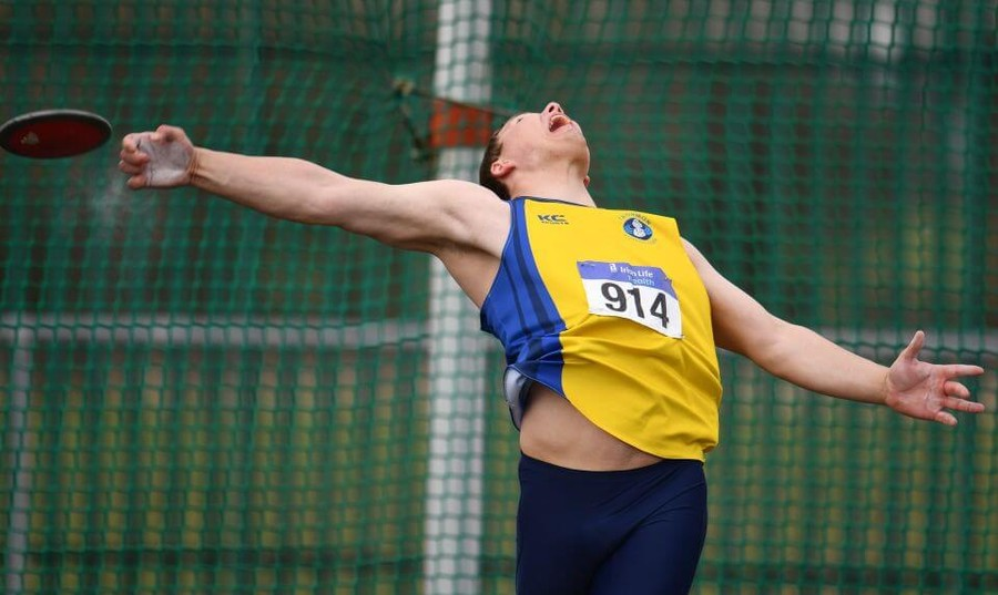 athletics ireland discus throw image s
