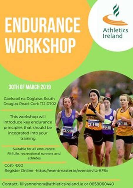 endurance workshop douglas march 2019