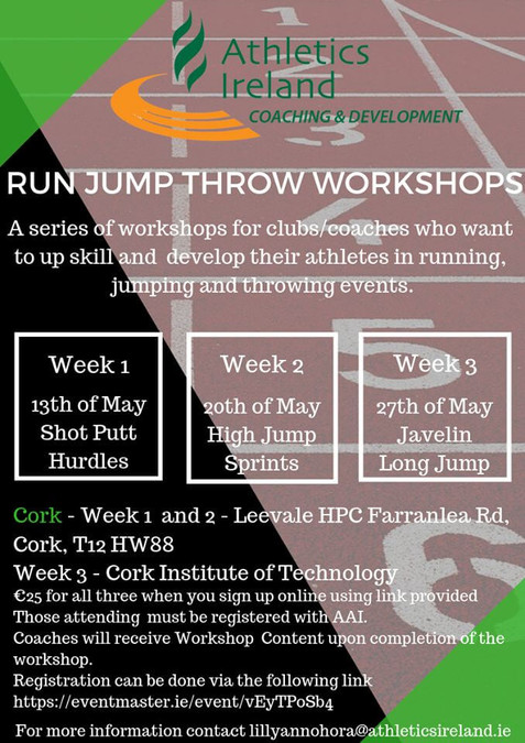 run jump throw workshop may 2019
