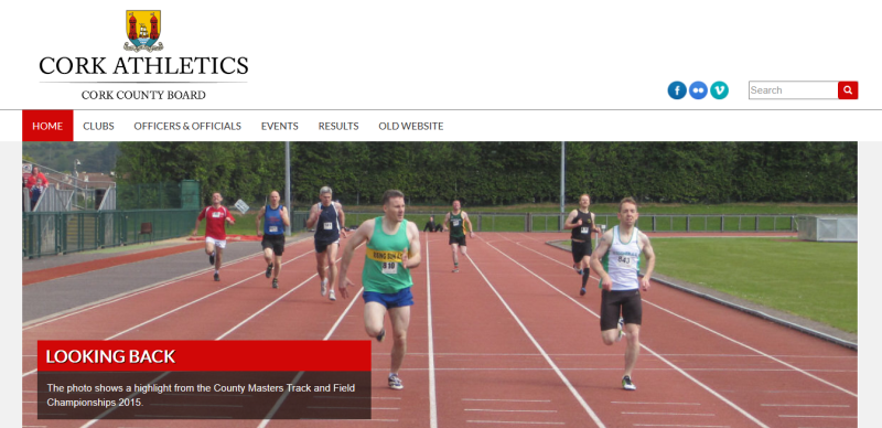 New Cork Athletics Website