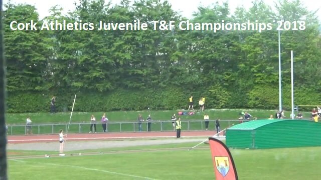 cork athletics juvenile track and field championships 2018