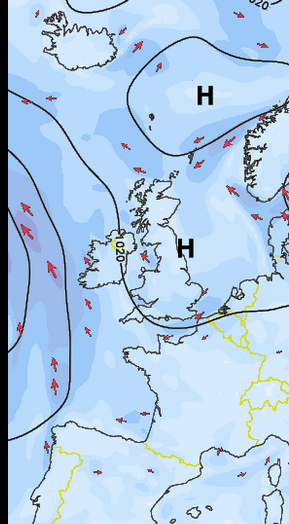 Predicted Wind - Cork 0700, Mon June 6th