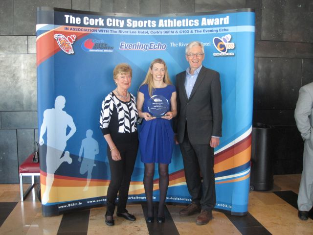 Lizzie Lee Cork City Sports Star of the Month February 2015 Parents