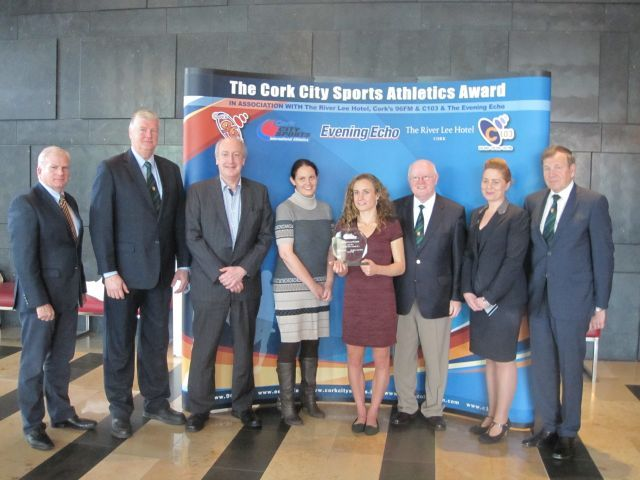 Presentation Group - Michelle Finn - Cork City Sports Athlete of the Month - June 2015