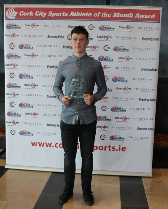 brian lynch cork city sports athlete of the month august 2018 10