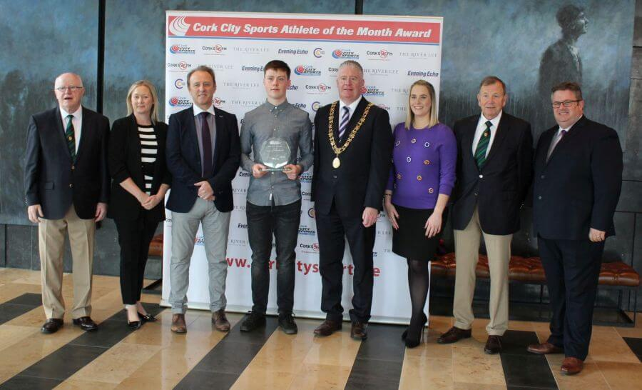 brian lynch cork city sports athlete of the month august 2018 11