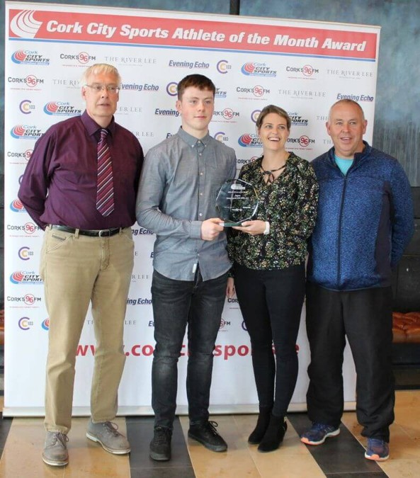 brian lynch cork city sports athlete of the month august 2018 8