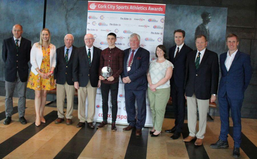 darragh mcelhinney cork city sports athlete of the month may 2019 5
