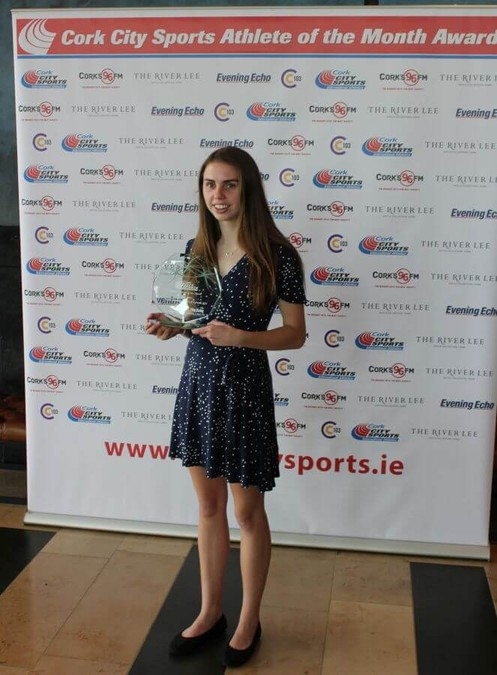 cork city sports athlete of the month april 2019 louise shanahan 2