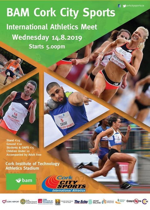 68th cork city sports poster 2019