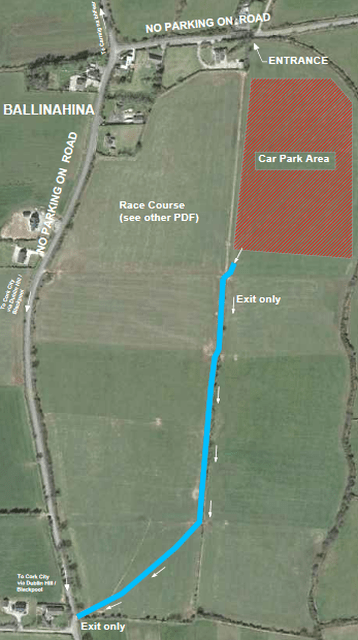Munster Novice Cross Country 2016 Parking min