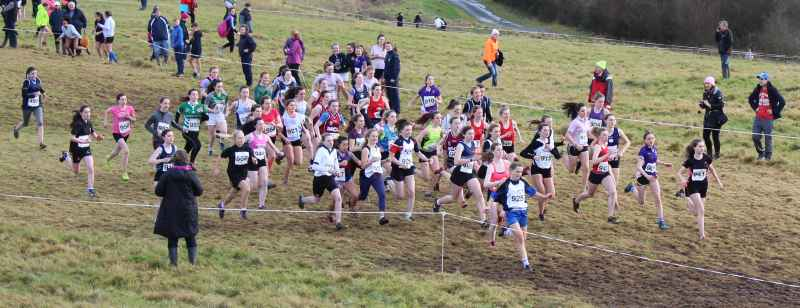 South Munster Schools Senior Girls XC Championship 2017
