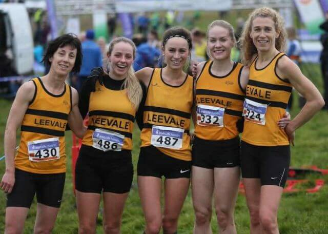 leevale women national novice women cross country 2017 silver medalists