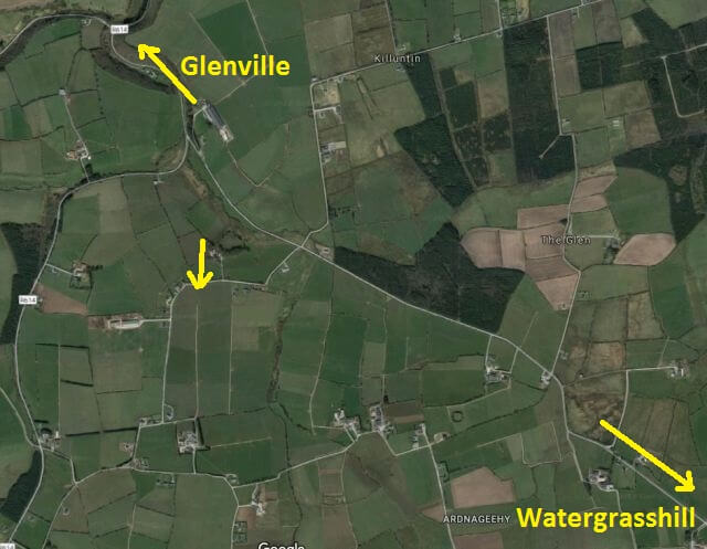 cork athletics county intermediate and juvenile b ardnageehy west map 2017