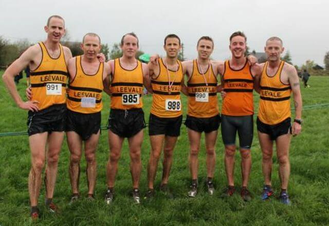 leevale ac cork athletics intermediate mens cross country champions 2017