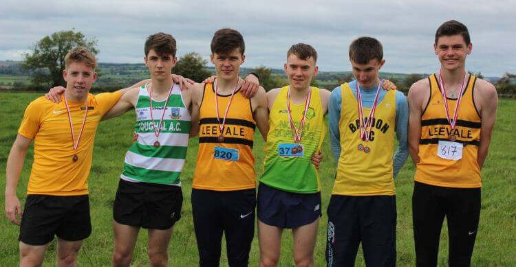 first six junior men cork junior mens cross country championship 2017