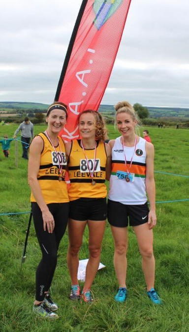 first three senior women cork senior womens cross country championship 2017