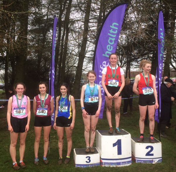 National Intermediate Girls Top Six Mallusk 2017s