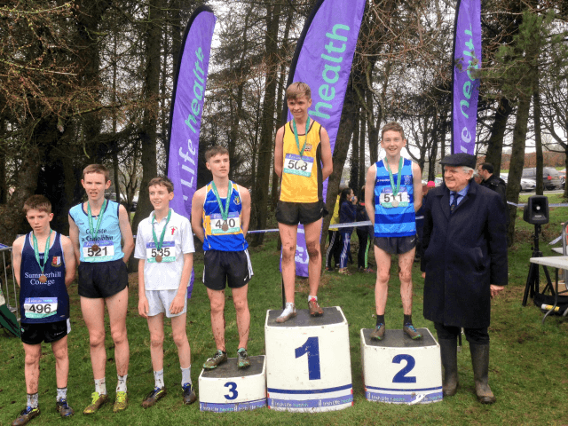 National Schools Junior Boys Cross Country Mallusk 2017s