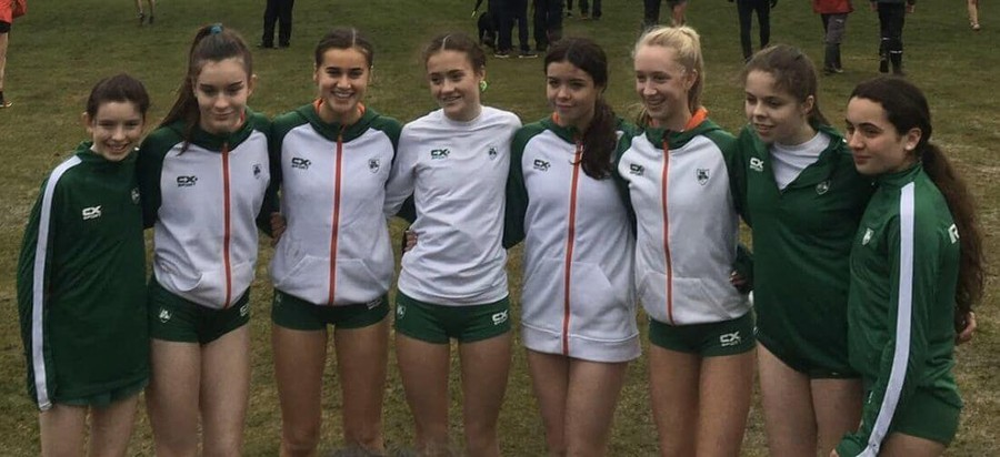 athletics ireland under 17 girls great stirling xc 2020