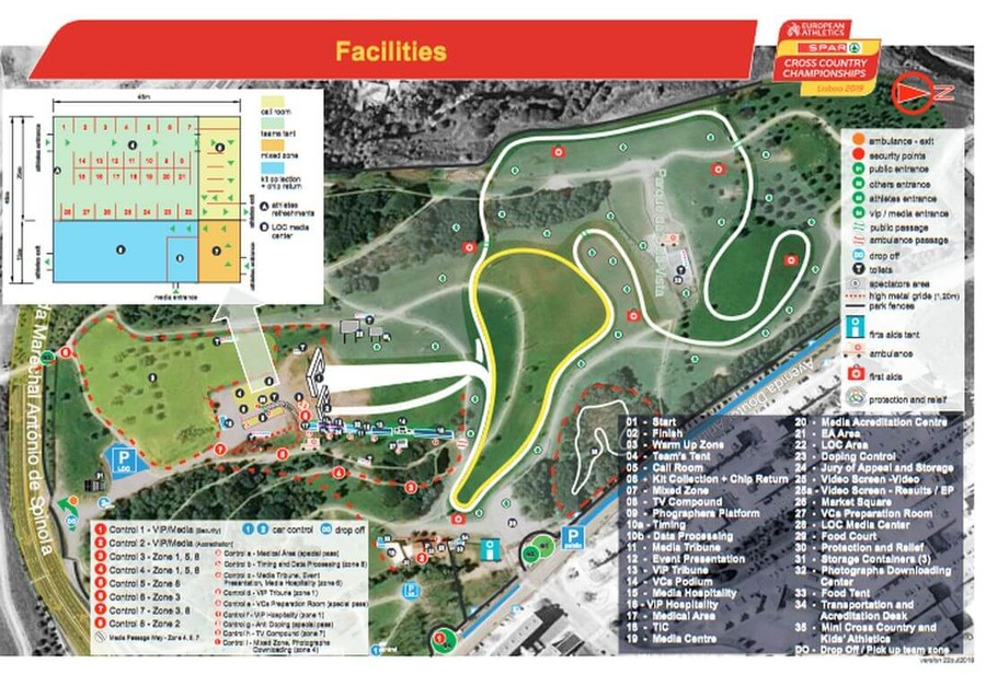 european cross country championships venue 2019