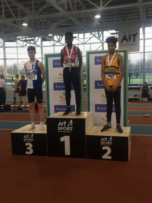 boys under 14 indoor pentathlon championship 2018 kyle ettoh leevale