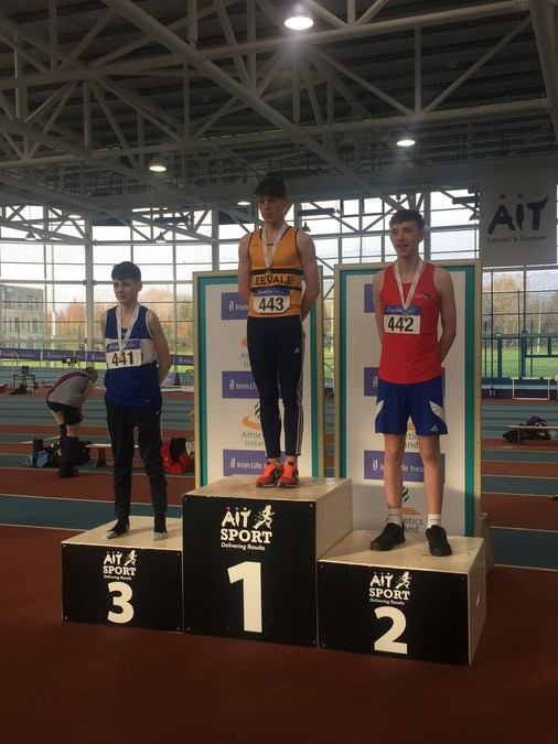 boys under 15 indoor pentathlon championship 2018 harry nevin leevale