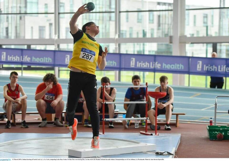 Results of Irish Life Health National Juvenile Indoor T&F