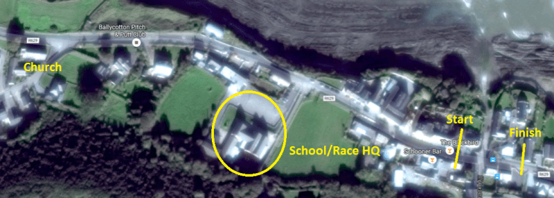Ballycotton National School Location min