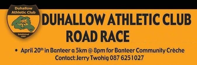 Banteer 5k Road Race April 2017