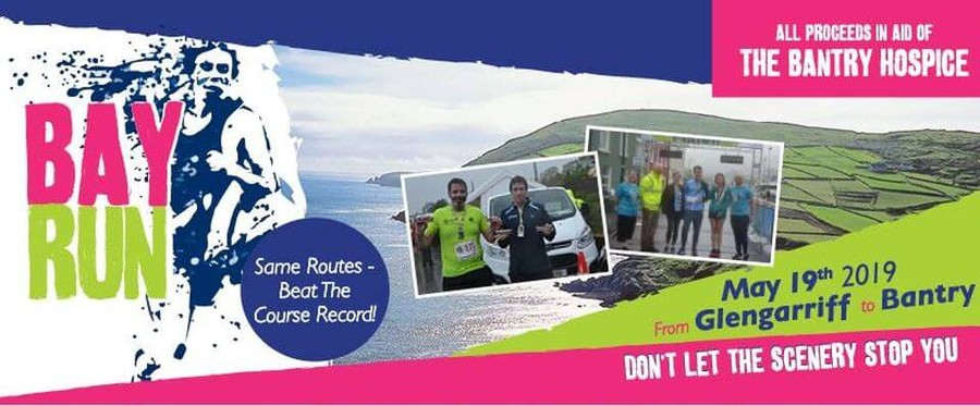 bay run half marathon banner 2019
