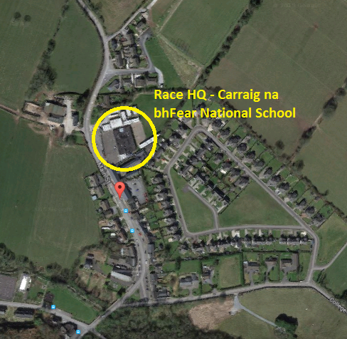 Carraig na bhFear National School Location
