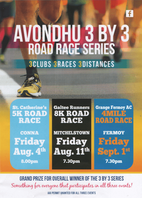 avondhu 3 by 3 flyer 2017