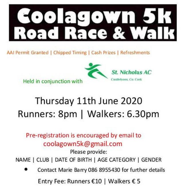 coolagown 5k flyer 2020
