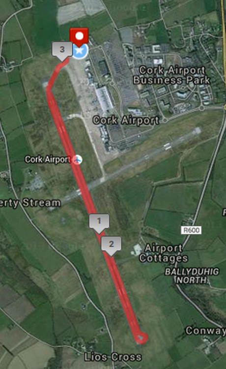 Irish Independent A Lust For Life Runway 5k Course Route Map