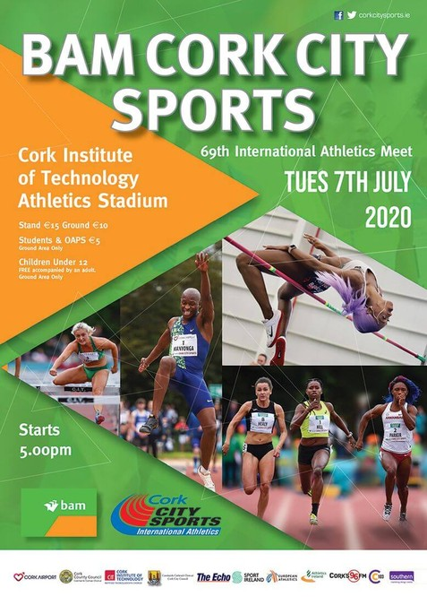 bam cork city sports flyer 2020