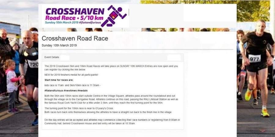 crosshaven road race banner 2019a