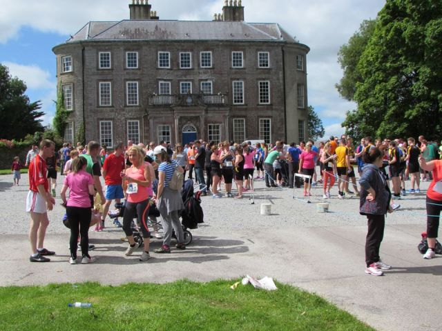 Doneraile Park 5k Finish Line small