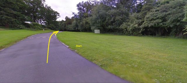 Doneraile Park 5k Start Area